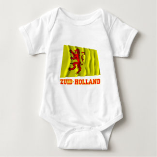 Zuid-Holland Waving Flag with Name T-shirt