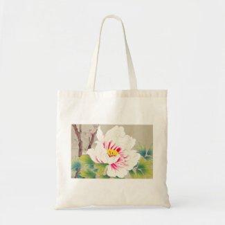 Zuigetsu Ikeda Pink Camellia japanese flower art Tote Bag