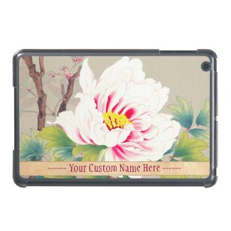 Zuigetsu Ikeda Pink Camellia japanese flower art iPad Mini Cover