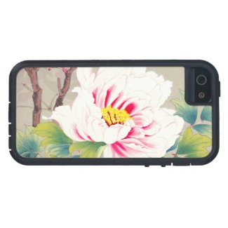 Zuigetsu Ikeda Pink Camellia japanese flower art Case For iPhone 5