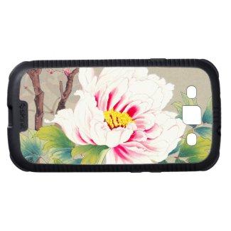 Zuigetsu Ikeda Pink Camellia japanese flower art Samsung Galaxy S3 Case