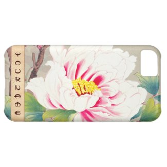 Zuigetsu Ikeda Pink Camellia japanese flower art Cover For iPhone 5C