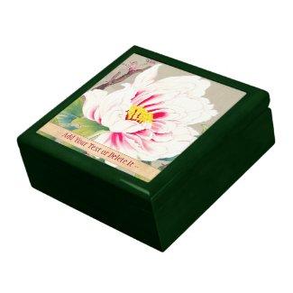 Zuigetsu Ikeda Pink Camellia japanese flower art Gift Box