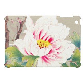 Zuigetsu Ikeda Pink Camellia japanese flower art iPad Mini Covers