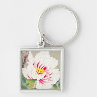 Zuigetsu Ikeda Pink Camellia japanese flower art Keychains
