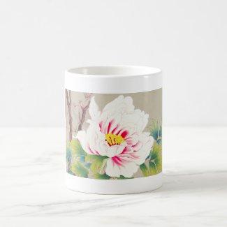 Zuigetsu Ikeda Pink Camellia japanese flower art Mug