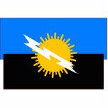 Zulia, bandera de Venezuela Esculturas Fotográficas