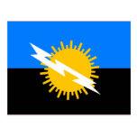 Zulia, bandera de Venezuela Tarjetas Postales