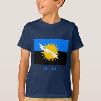 Zulia Flag with Name T-Shirt