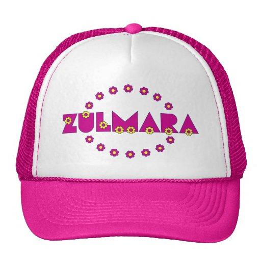 Zulmara de Flores Rosa Trucker Hats