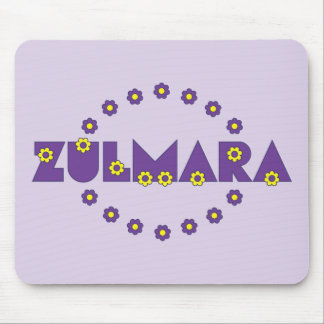 Zulmara Flores Purple Mouse Pad