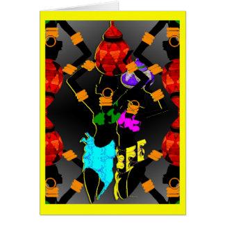 Zulu cards greeting photo cards zazzle zulu baskets card stopboris Gallery