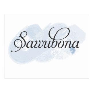 Zulu - Sawubona Postcard