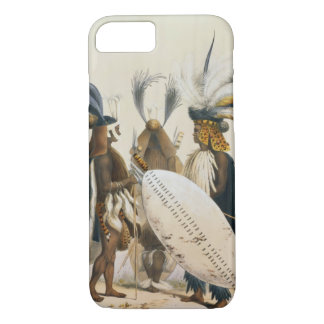 Zulu Soldiers of King Panda's Army, plate 20 from iPhone 7 Case