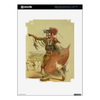 Zulu warrior, Utimuni, nephew of Chaka the late Zu Decals For iPad 3