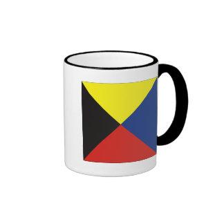Zulu (Z) Signal Flag Coffee Mug