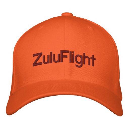 ZuluFlight cap Embroidered Baseball Caps