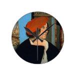 Zum Hasen, 1516 de alcalde Jacobo Meyer (tempera e Reloj Redondo Mediano