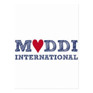Zum INTERNACIONAL Muttertag de la serie de MUDDI Postal