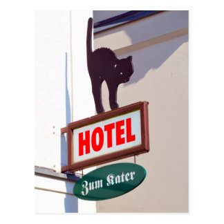 Zum Kater Hotel, Warnemunde, Germany Postcard