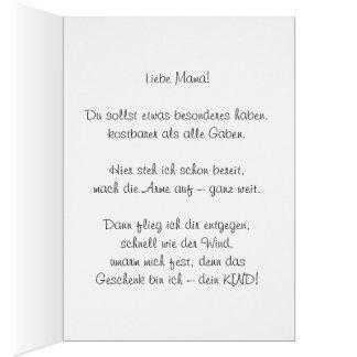 Zum Muttertag Card
