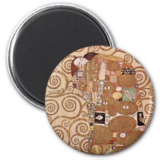 Zum Stocletfries de Klimt - de Werkvorlagen Imán Para Frigorifico