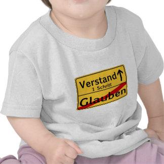 Zum Vestand de Glauben del vom de Ein Schritt Camiseta