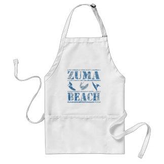 Zuma Beach Adult Apron