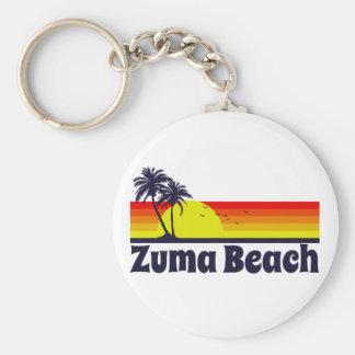 Zuma Beach Keychain