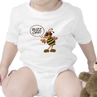 Zumbido apagado trajes de bebé