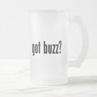 ¿zumbido conseguido? taza cristal mate