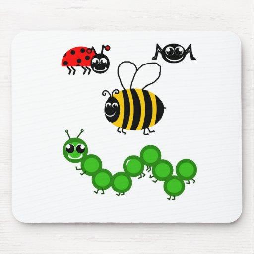 Zumbido de la abeja tapetes de ratones