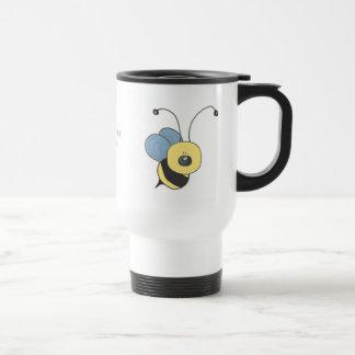 Zumbido de la taza del viaje de la abeja