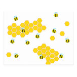 Zumbido del abejorro tarjeta postal