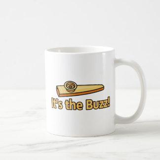 Zumbido del Kazoo Taza De Café