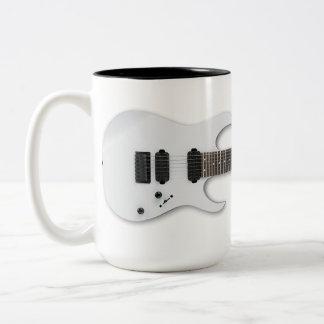 Zumbido del traste de la mañana taza de dos tonos