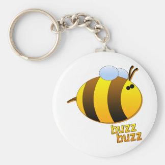 Zumbido del zumbido el abejorro llavero personalizado