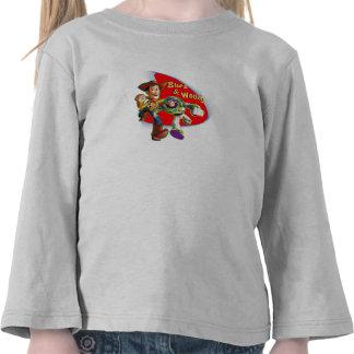 Zumbido y Woody Disney Camisetas