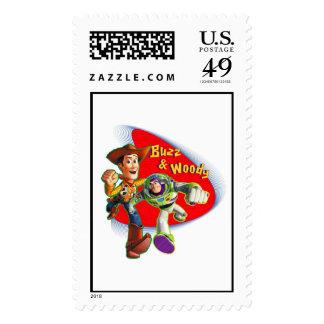 Zumbido y Woody Disney Sellos