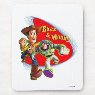 Zumbido y Woody Disney Tapetes De Ratones