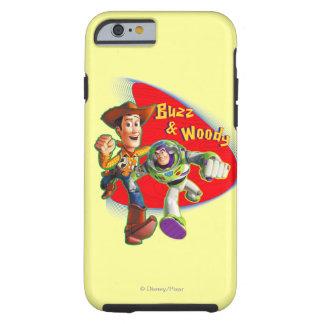 Zumbido y Woody Funda Resistente iPhone 6