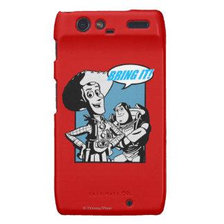 Zumbido y Woody Tráigalo Motorola Droid RAZR Carcasas
