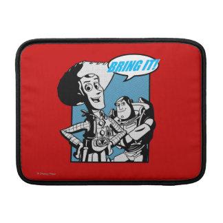 Zumbido y Woody: Tráigalo Funda MacBook