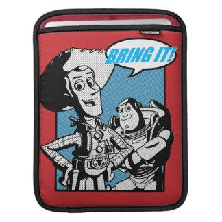 Zumbido y Woody: Tráigalo Manga De iPad