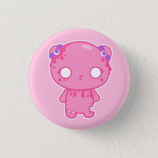 Zumbie Bear Fraise Button