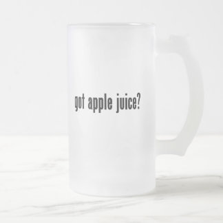 ¿zumo de manzana conseguido? taza de cristal