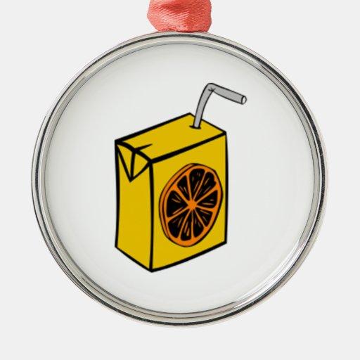 Zumo de naranja adorno