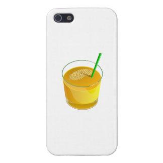 Zumo de naranja iPhone 5 carcasas