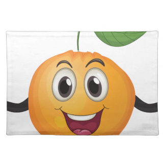 Zumo de naranja mantel individual