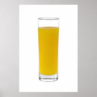 zumo de naranja impresiones